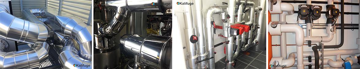calorifuge isolation thermique acoustique protection incendie